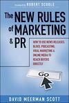 new rules of marketing an pr